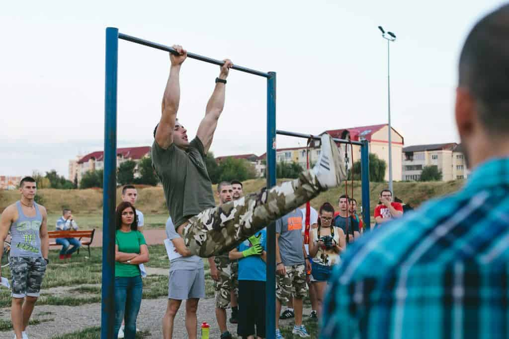 calisthenics seminar and workshop in Romania