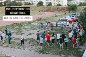 calisthenics workshop seminar in Romania