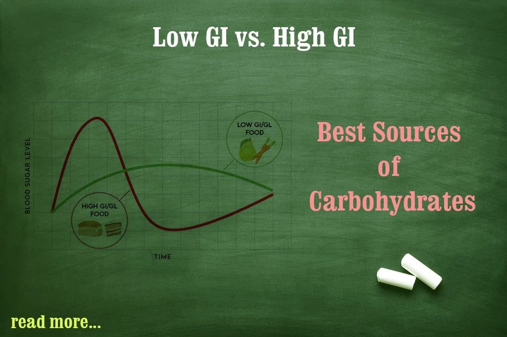 low Glycemic Index versus High Glycemic Index