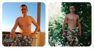 calisthenics body transformation