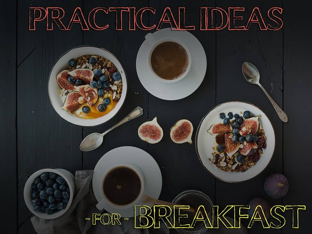 Breakfast for athletes and fitness