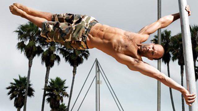 bodyweight workout for Jason Statham