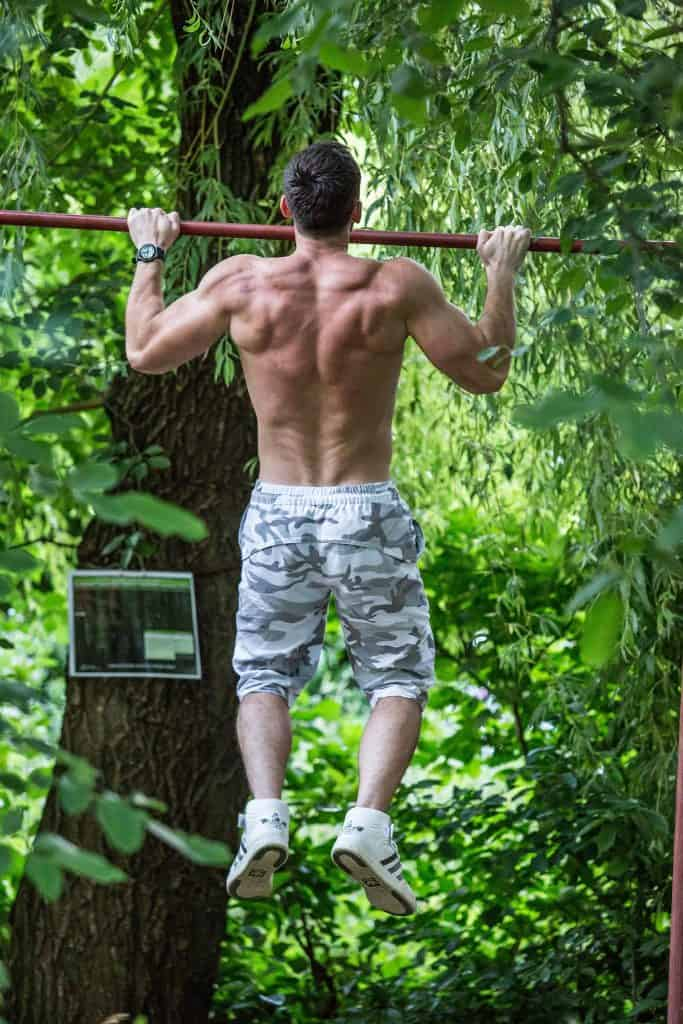 wide pull-ups for shoulders