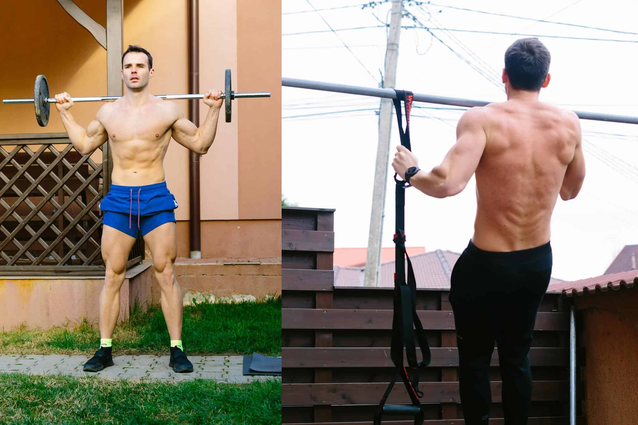 Train and Don't Lose Muscle Mass
