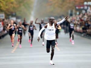 Eliud Kipchoge under 2 hours marathon
