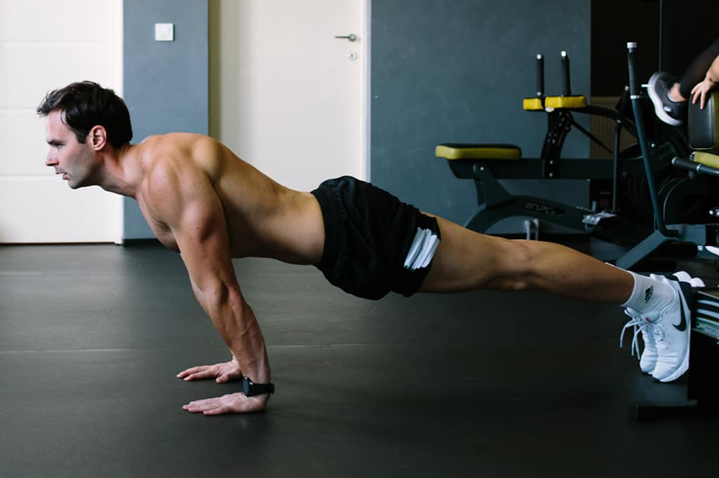 Full Body Workout with Backward Pushups